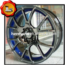 wheels alloy wheel rim auto rims china SUV 4x4 alloy wheel 6 holes BLACK ET 42