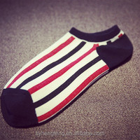 2015 hot style wholesale fashion man socks stripe socks