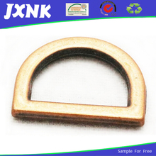 metal D ring belt buckles for bag shoes clothes
