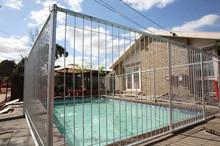 galvanized Portable metal pool fence