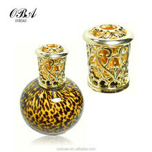 Best selling clear China-made Leopard colorful round spray empty glass bottles for perfume with cheap price