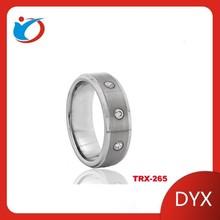 mens tungsten wedding rings black stainless steel ring