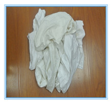 White cotton wiping rags for oil cleaning +high quality (used)