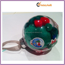 High Quality Hot Selling wholesale clear plastic ball christmas ornaments