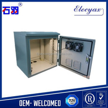 IT enclosures cabinet waterproof/SK-185A wall or pole mounted metal enclosure with fan