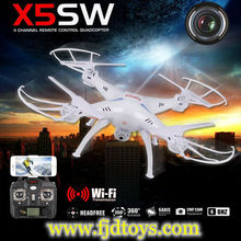 Shenzhen Toy Syma RC Helicopter X5SW Wifi Control Drone With Camera And FPV