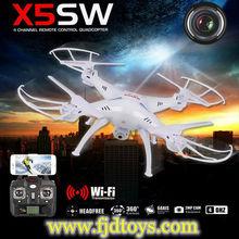 shenzhen giocattoli syma x5sw radiocomando drone con wifi fotocamera e fpv