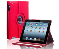 Lichee Pattern 360 Rotate Leather Case For Ipad Covers