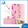 Pink Party Decoration Happy Hanging Birthday Decorations
