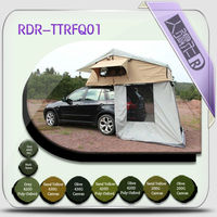 soft roof top tent with changing room / cloth car camping tent / roof top tents for vehicle camping