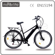 Motorlife/OEM HIGH POWER ELECTRIC BICYCLE WITH 36V LAMP