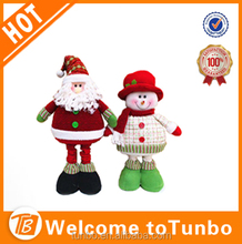 2015 Novelty christmas standing santa decoration extended santa