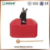 wholesale musical plastic cowbell percussion instrument cowbell