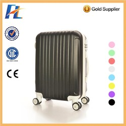 2015 4 wheels abs travel luggage bvags, trolley suitcase luggage set