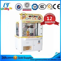 CY-TM04 plush animal stuffing machine crane claw machine for sale slot machine toy