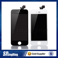 best quality In Stock for iPhone 5 5s 5c 5g LCD Display Touch Digitizer Complete Screen with Frame Full Assembly Replacement