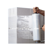 Japan plastic high quality PE stretch film for goods wrap