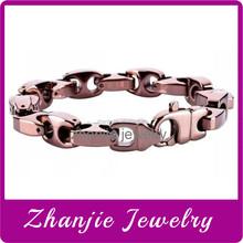 China Professional Manufacturer Supply First Class Design Heathly Bracelet Tungsten Stainless Steel Scalar Energy Bracelet