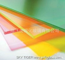colored laminated glass,glass processing manufacturer, with CCC&EN&ISO certificate