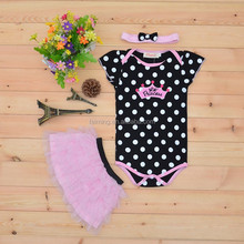 Wholesale baby dress romper , child dress .