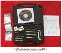 1-130 eight-standard tinfoil tools FOR LOCKSMITH EQUIPMENT GOSO LOCKSMITH CIVIL USED TOOLS