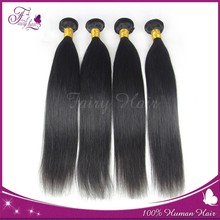 100% natural indian straight weave wholesale pure indian remy virgin human hair weft