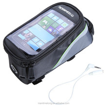"""4.2"""" 4.8"""" 5.5"""" Waterproof Outdoor Cycling Mountain Road MTB Bike Bicycle bag Frame Front Tube Bag for Cell Phone"""