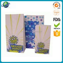 New products healthy food printed white craft paper popcorn bag