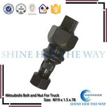 Mitsubishi Parts Canter Wheel Rim Hub Bolt and Nut