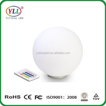 Battery operated color changing mood led light ball/led mood light ball