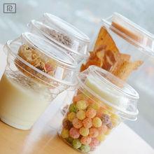 R-PP-disposable bubble milk tea juice coffee printed plastic cup 17oz -PET custom printing cup