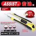 Feito em yuyao alta qualidade 32g-l3 bolso faca dobrável, 18mm utilitário faca