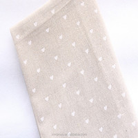 Drying diy craft/curtains/cloth/flax 100% cotton printed linen fabric