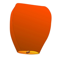100/lot many color without picture Sky Lanterns Wishing Lamp SKY CHINESE Paper ballons for BIRTHDAY WEDDING Party