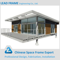 Light Frame Building Construction Prefabricated Steel Frame House