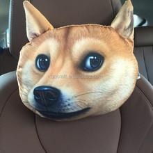 BSCI QQ Petfacepillow Factory cat shaped & hot dog shaped pillow