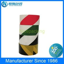 high adhesive safety reflective warning tape for underground