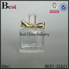 clear glass e liquid bottle, 100ml spray glass bottle perfume with gold cap
