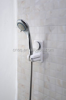 plastic adjustable shower head holder with suction cup