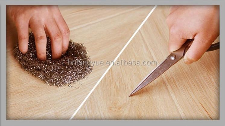 팝 고품질 접착제 필요한 나무 pvc 비닐 판자 바닥-플라스틱 ...