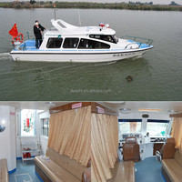 9.6m speed sport frp cabin boat China
