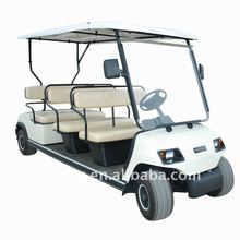 48V 8 Seater Electric White Sightseeing Vehicle CE certification LT-A8