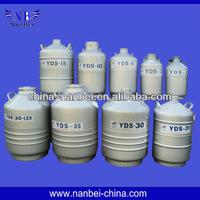 YDS-50B transportable biological sterile storage liquid nitrogen tank best qualtiy and factory price