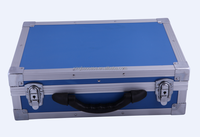 Carrying waterproof aluminum metal case with tools board XB-TL056
