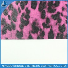 1403004-5083-5-1 Hot Selling Free Sample Available PU Leopard Print Leather for Shoes