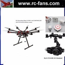 DJI Spreading Wings S1000+ &A2 CONTROLLER &Z15 Z15-5D III Gimbal Combo Professional Octocopter for Aerial Photography