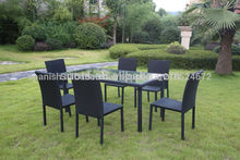 pcs 7 rota de aluminio muebles de exterior de juegos de comedor mesa y sillas