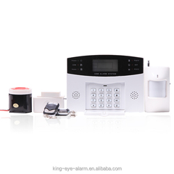 Timely arm/disarm function 99 defense zones multi function mobile call wireless security alarm home gsm