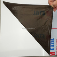 Black and white pe/plastic/polyethylene protective film for solid aluminum panel