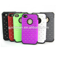 Have in stock hot selling fashion mobile rhinestone phone case for iphone 5 s